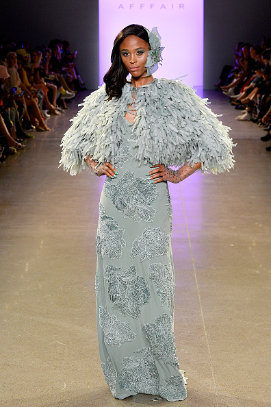 Textured Effect「Afffair S/S20 - Runway - September 2019 - New York Fashion Week: The Shows」:写真・画像(2)[壁紙.com]