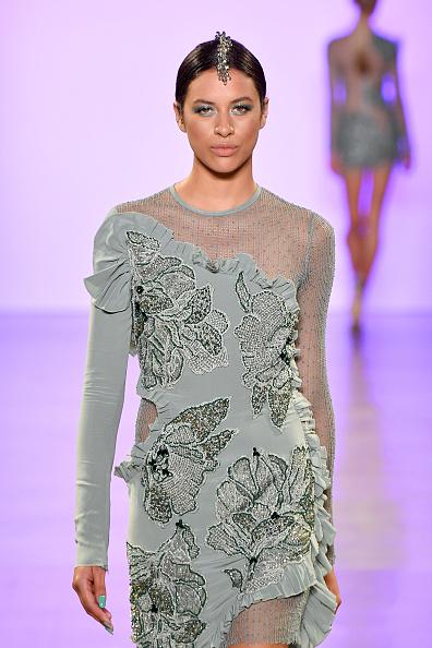 Textured Effect「Afffair S/S20 - Runway - September 2019 - New York Fashion Week: The Shows」:写真・画像(18)[壁紙.com]