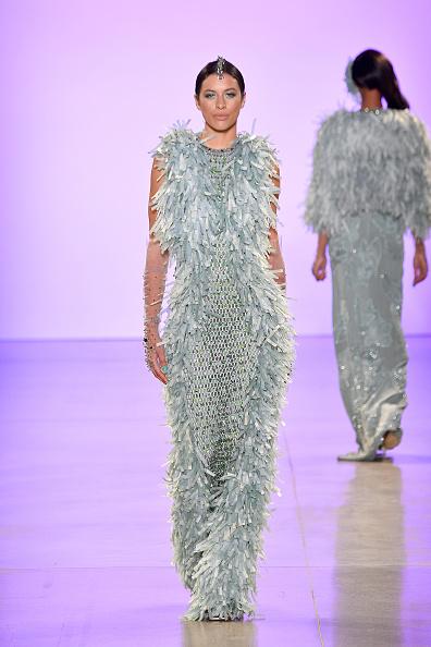 Textured Effect「Afffair S/S20 - Runway - September 2019 - New York Fashion Week: The Shows」:写真・画像(17)[壁紙.com]