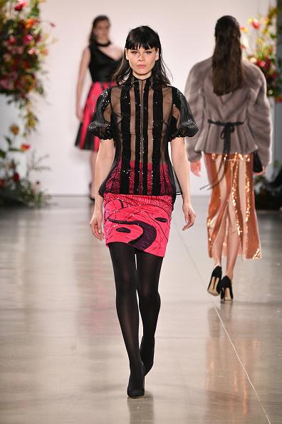 Skirt「Bibhu Mohapatra - Runway - February 2019 - New York Fashion Week: The Shows」:写真・画像(9)[壁紙.com]