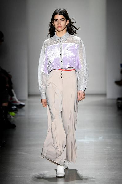 Wide Leg Pants「Concept Korea - Runway - February 2019 - New York Fashion Week: The Shows」:写真・画像(2)[壁紙.com]