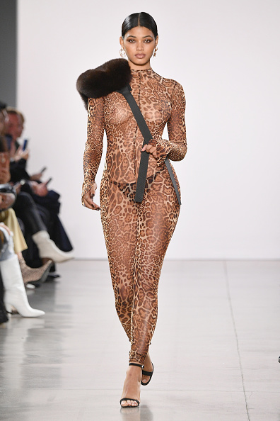 Fashion show「Laquan Smith - Runway - February 2019 - New York Fashion Week: The Shows」:写真・画像(3)[壁紙.com]