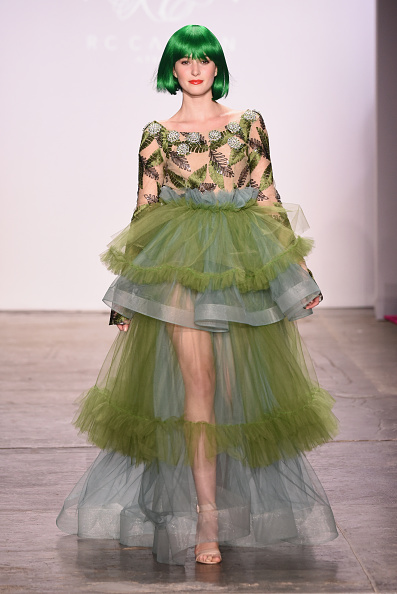 Tulle Netting「The CAAFD Emerging Designer Showcase - Runway - February 2019 - New York Fashion Week: The Shows」:写真・画像(14)[壁紙.com]