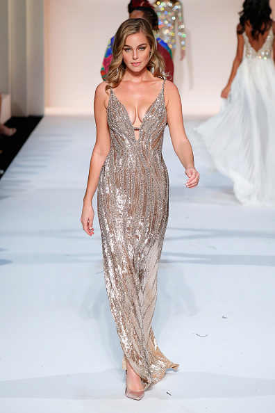 Evening Gown「Sherri Hill New York Fashion Week February 2019 - Runway」:写真・画像(6)[壁紙.com]
