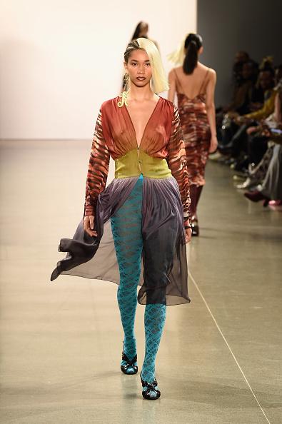 Hosiery「Kim Shui - Runway - February 2019 - New York Fashion Week: The Shows」:写真・画像(14)[壁紙.com]