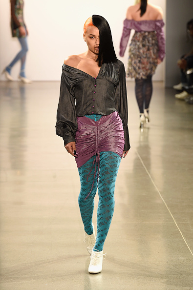 Hosiery「Kim Shui - Runway - February 2019 - New York Fashion Week: The Shows」:写真・画像(5)[壁紙.com]