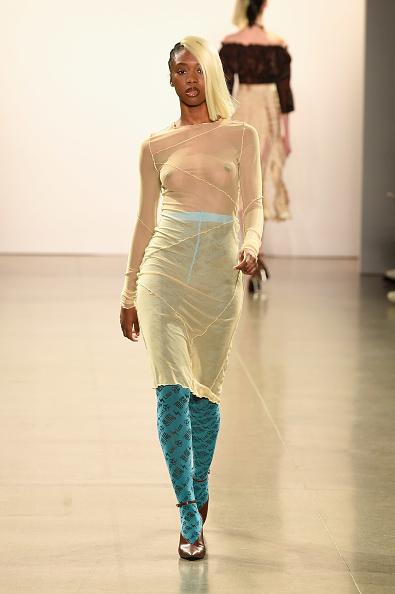 Hosiery「Kim Shui - Runway - February 2019 - New York Fashion Week: The Shows」:写真・画像(2)[壁紙.com]