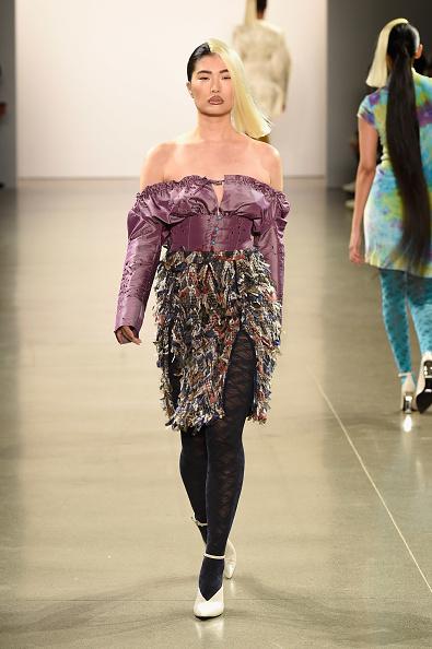 Hosiery「Kim Shui - Runway - February 2019 - New York Fashion Week: The Shows」:写真・画像(8)[壁紙.com]
