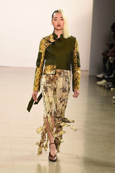Maxi Skirt「Kim Shui - Runway - February 2019 - New York Fashion Week: The Shows」:写真・画像(14)[壁紙.com]