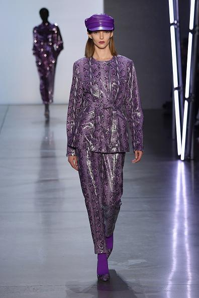 Purple Shoe「Sally LaPointe - Runway - February 2019 - New York Fashion Week: The Shows」:写真・画像(5)[壁紙.com]