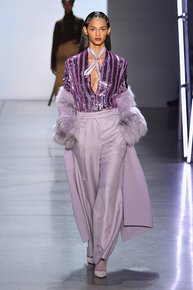 Lavender Color「Sally LaPointe - Runway - February 2019 - New York Fashion Week: The Shows」:写真・画像(10)[壁紙.com]
