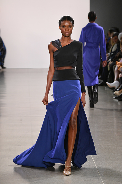 Blue Dress「Burnett - Runway - February 2019 - New York Fashion Week: The Shows」:写真・画像(19)[壁紙.com]