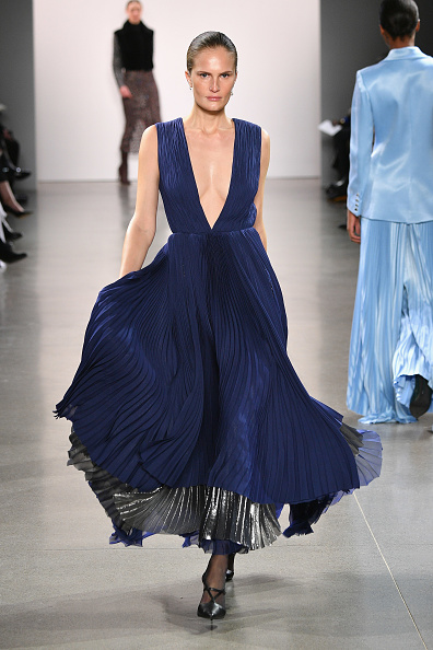 Blue Dress「Burnett - Runway - February 2019 - New York Fashion Week: The Shows」:写真・画像(17)[壁紙.com]