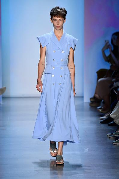 Blue Dress「Concept Korea - Runway - September 2018 - New York Fashion Week: The Shows」:写真・画像(7)[壁紙.com]