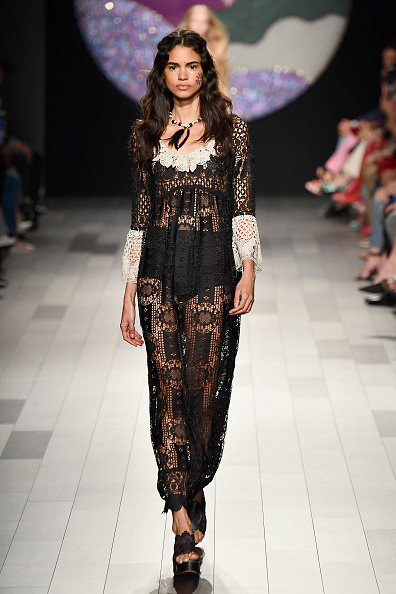 Panties「Anna Sui - Runway - September 2017 - New York Fashion Week: The Shows」:写真・画像(2)[壁紙.com]