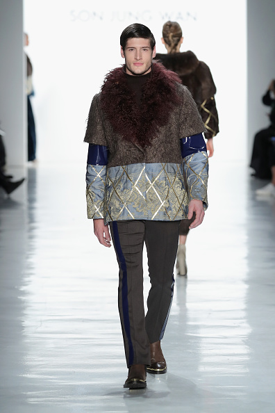 Diamond Pattern「Son Jung Wan - Runway - February 2017 - New York Fashion Week: The Shows」:写真・画像(4)[壁紙.com]