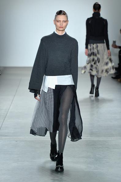 Leather Boot「Verdad - Runway - February 2017 - New York Fashion Week」:写真・画像(15)[壁紙.com]
