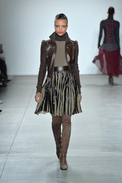 Leather Jacket「Verdad - Runway - February 2017 - New York Fashion Week」:写真・画像(10)[壁紙.com]