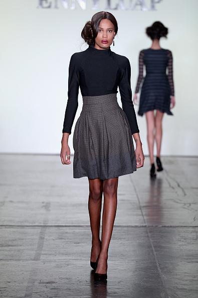Flared Skirt「Ennyluap - Runway - February 2018 - New York Fashion Week Presented By First Stage」:写真・画像(14)[壁紙.com]