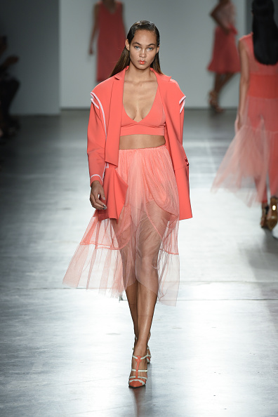 Tulle Netting「Katty Xiomara - Runway - September 2017 - New York Fashion Week」:写真・画像(1)[壁紙.com]