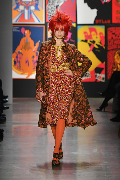 Mike Coppola「Anna Sui - Runway - February 2019 - New York Fashion Week: The Shows」:写真・画像(6)[壁紙.com]