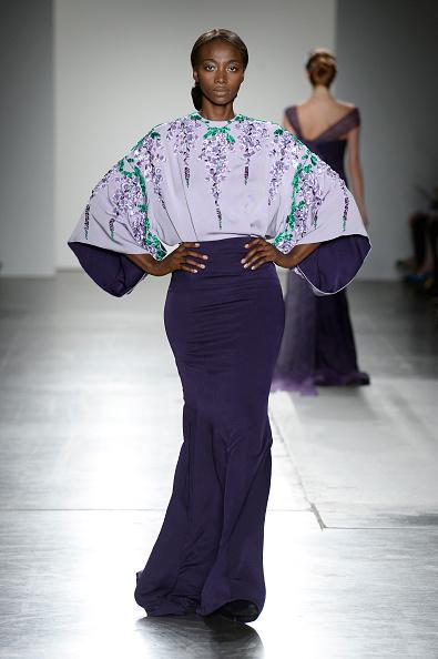 High Waist Skirt「Zang Toi - Runway - September 2016 - New York Fashion Week」:写真・画像(7)[壁紙.com]