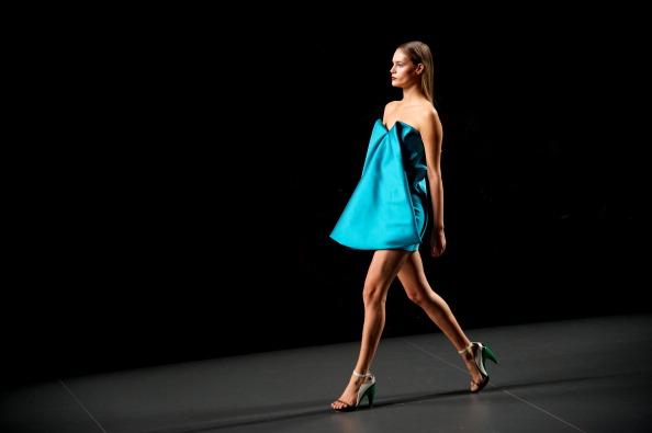 Blue Dress「Mercedes Benz Fashion Week Madrid S/S 2013 - AA de Amaya Arzuaga」:写真・画像(12)[壁紙.com]