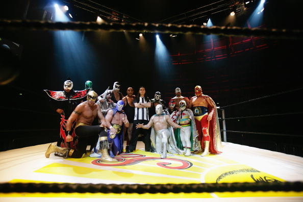 The Roundhouse「Mexican Wrestlers Lucha Libre Prepare For London Shows」:写真・画像(11)[壁紙.com]