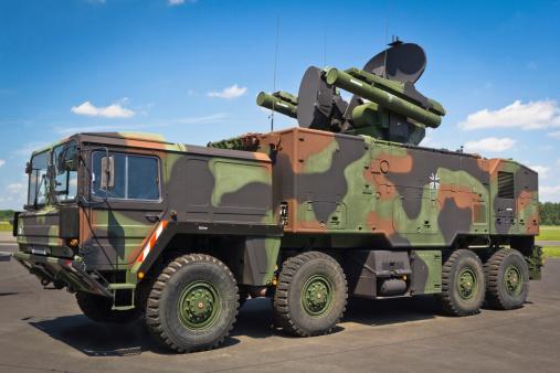 Anti-Aircraft「All-terrain truck with  short-range air missile」:スマホ壁紙(6)