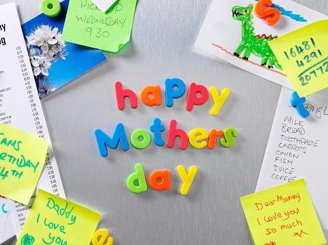 母の日「幸せな母の日に、フリッジドア」:スマホ壁紙(11)