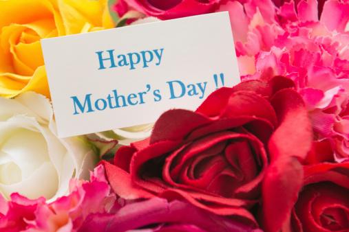 母の日「幸せな母の日の花束」:スマホ壁紙(10)