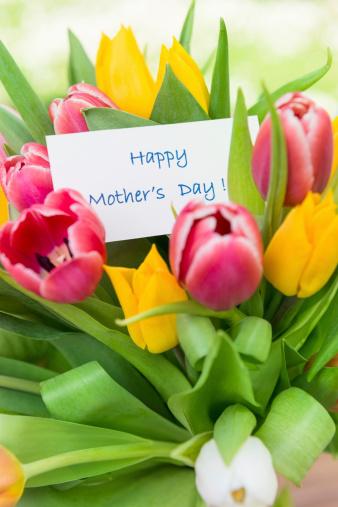 母の日「幸せな母の日の花束」:スマホ壁紙(14)