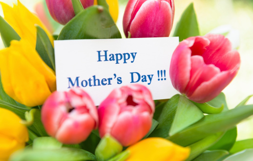 母の日「幸せな母の日の花束」:スマホ壁紙(13)