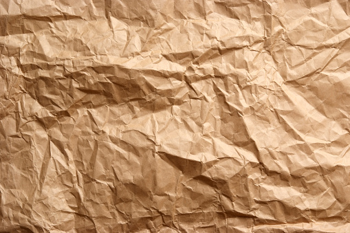 Crumpled「Crumpled brown paper texture background」:スマホ壁紙(16)