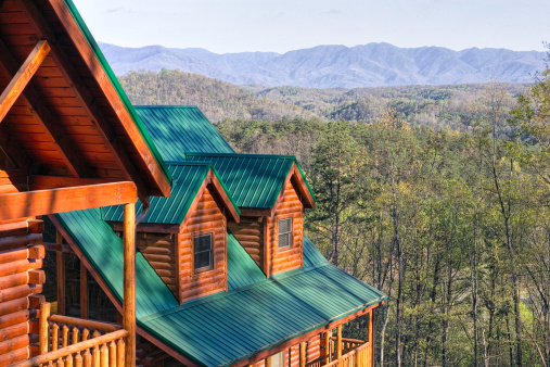 Gatlinburg「Log Cabins in the Smoky Mountains (XXL)」:スマホ壁紙(4)