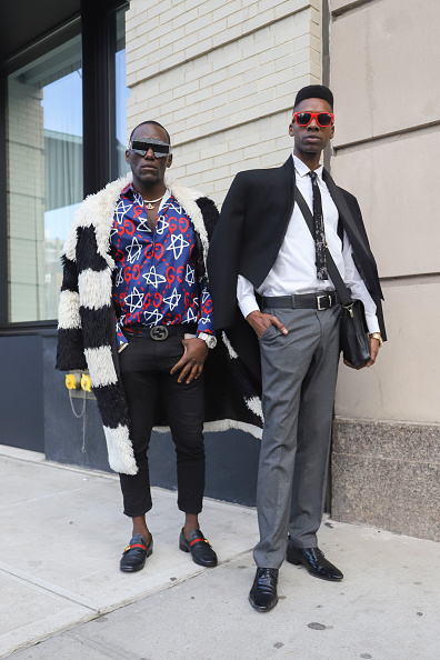 Achim Aaron Harding「Street Style - New York Fashion Week February 2019 - Day 3」:写真・画像(17)[壁紙.com]