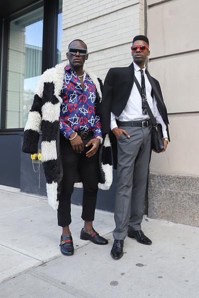 Achim Aaron Harding「Street Style - New York Fashion Week February 2019 - Day 3」:写真・画像(8)[壁紙.com]