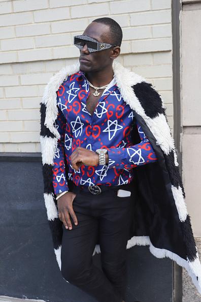 Achim Aaron Harding「Street Style - New York Fashion Week February 2019 - Day 3」:写真・画像(6)[壁紙.com]