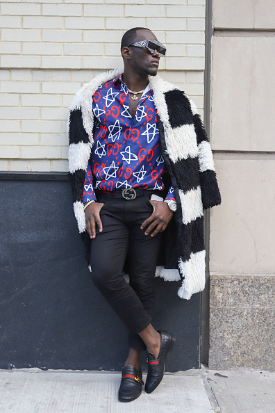 Achim Aaron Harding「Street Style - New York Fashion Week February 2019 - Day 3」:写真・画像(9)[壁紙.com]