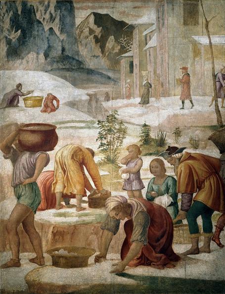 Israelite「The Israelites Gathering Manna」:写真・画像(2)[壁紙.com]