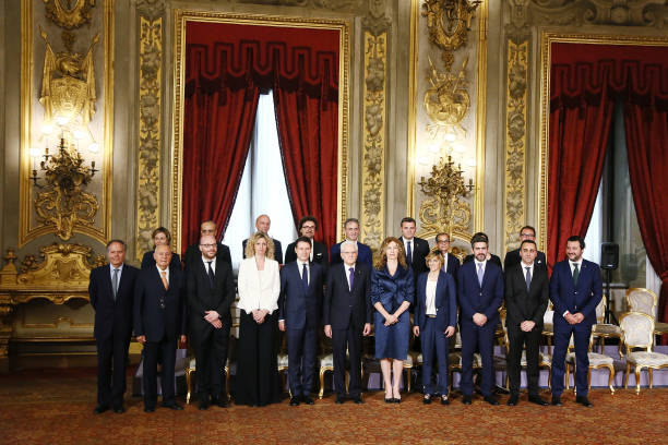 Prime Minister Designate Giuseppe Conte Presents New Italian Government:ニュース(壁紙.com)