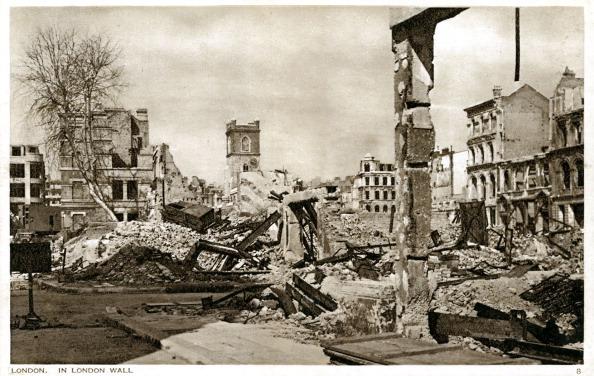 City Life「War damage in London: London Wall」:写真・画像(8)[壁紙.com]