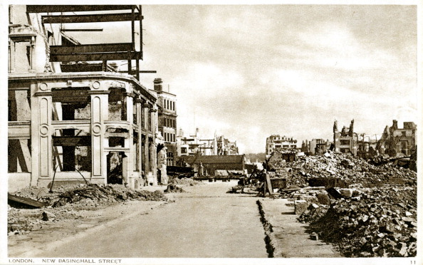 City Life「War damage in London: New Basinghall Street」:写真・画像(15)[壁紙.com]
