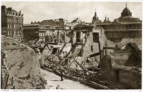 City Life「War damage in London: view from High Holborn」:写真・画像(0)[壁紙.com]