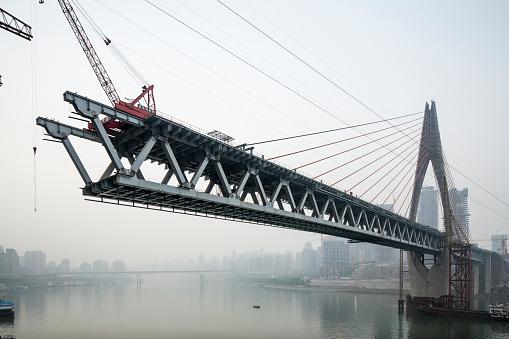 Problems「Dongshuimen Bridge Construction, Chongqing, China」:スマホ壁紙(14)
