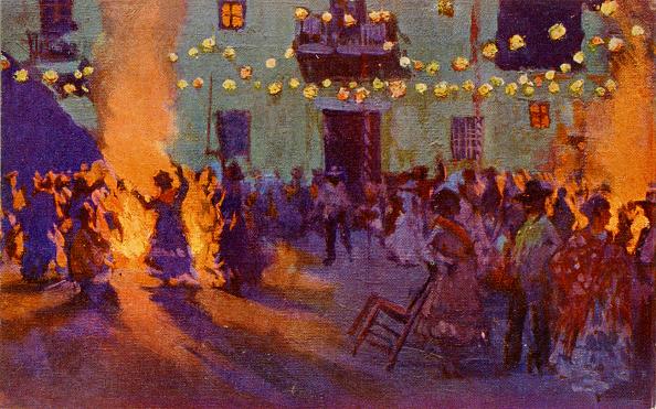絵「Festival of San Juan, Spain」:写真・画像(11)[壁紙.com]