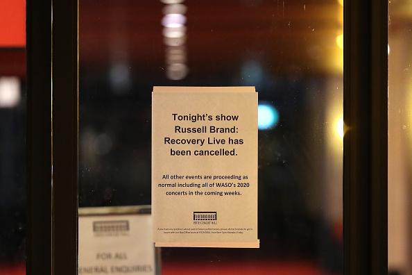 No People「Russell Brand Cancels Sold Out Perth Show Over Coronavirus Fears」:写真・画像(4)[壁紙.com]