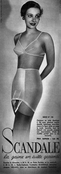 アーカイブ画像「French adevrtisement for girdle by Scandale c. 1940」:写真・画像(13)[壁紙.com]