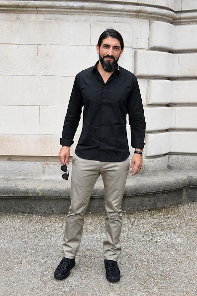 ディオール オム「Dior Homme : Front Row  - Paris Fashion Week - Menswear Spring/Summer 2018」:写真・画像(6)[壁紙.com]