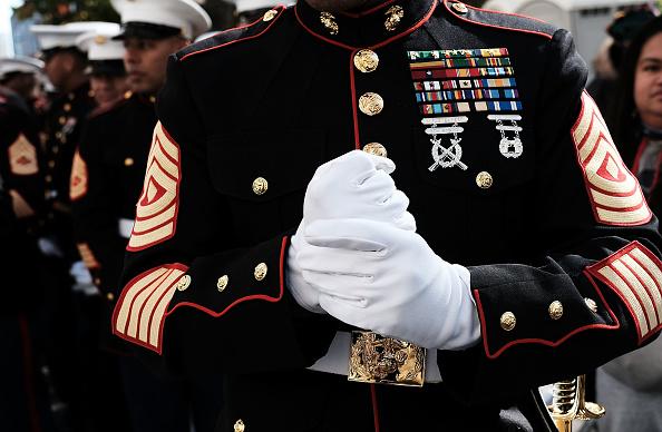 Marines - Military「Veterans Day Parade Held On New York's 5th Avenue」:写真・画像(13)[壁紙.com]